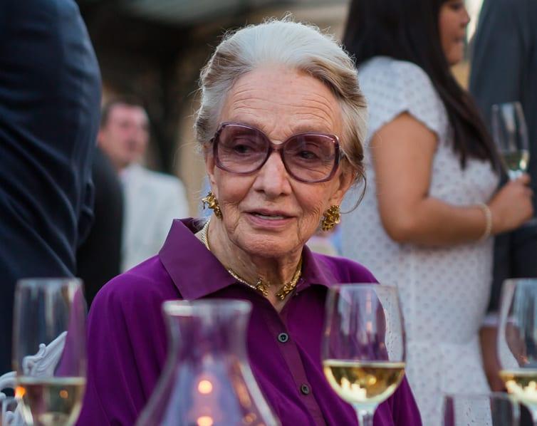 """Clara Mª González de Amezúa, Premio """"Toda una Vida"""" 2015"""
