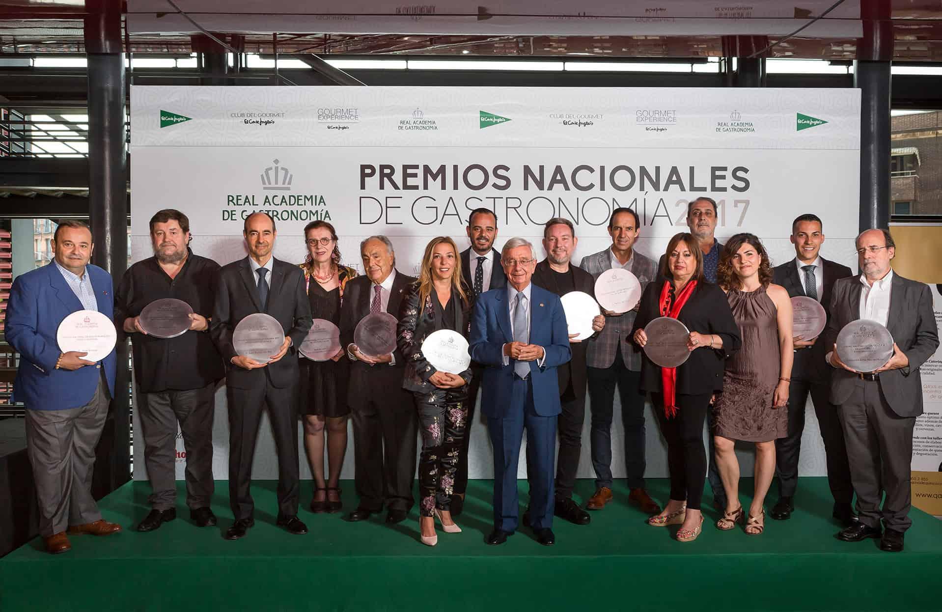 Se entregan los Premios Nacionales de Gastronomía