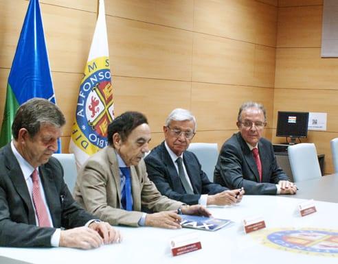Nace la Cátedra Real Academia de Gastronomía de la Universidad Alfonso X El Sabio