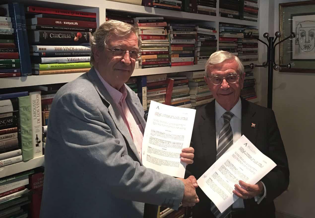 La RAG firma un convenio con la Academia de Cine
