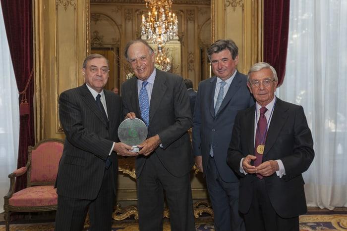 Entrega del Grand Prix de La Culture Gastronomique a D. Carlos Falcó