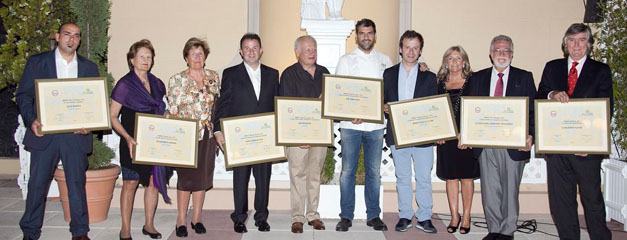 Entrega de los Premios Memoriales de Gastronomía 2011
