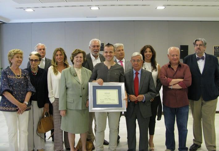 Entrega del Prix Chef de L'Avenir a David Muñoz