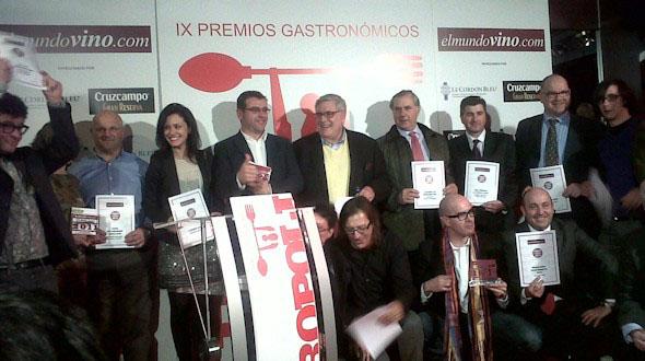 Entregados los Premios Metrópoli y El Mundovino.com