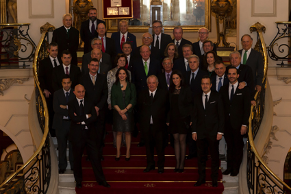 Homenaje de la RAG al S.M. el Rey D. Juan Carlos