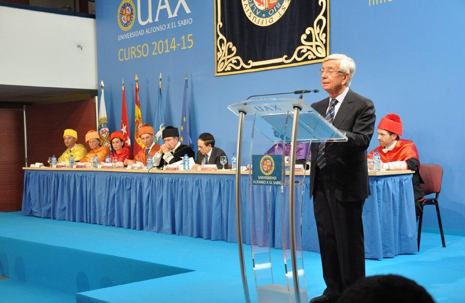 Lección Magistral del presidente en la UAX