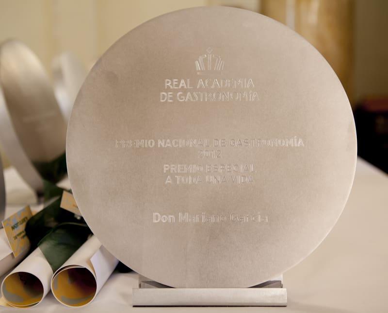 Nominaciones a los Premios Nacionales de Gastronomía 2013