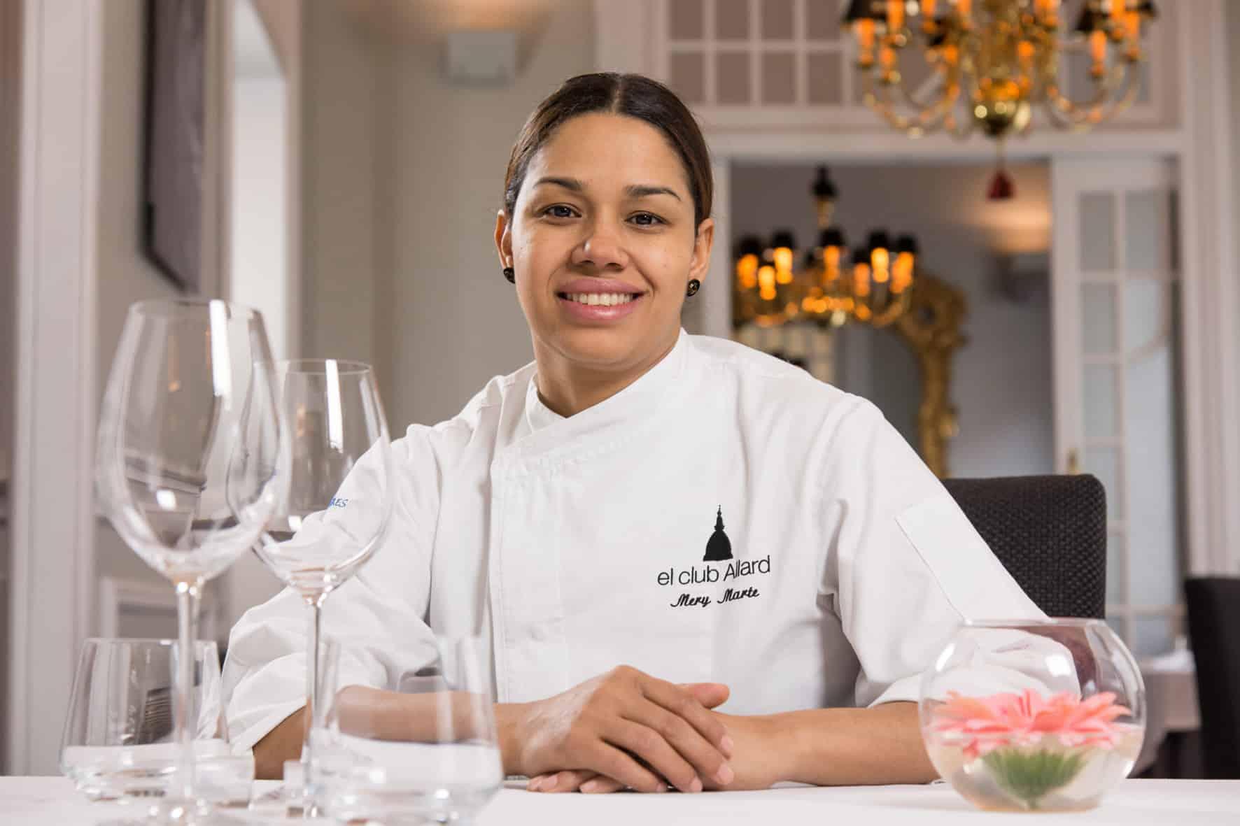 María Marte, Premio Nacional de Gastronomía al Mejor Jefe de Cocina