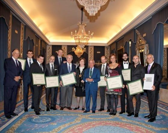 Entrega de los Premios Memoriales 2012