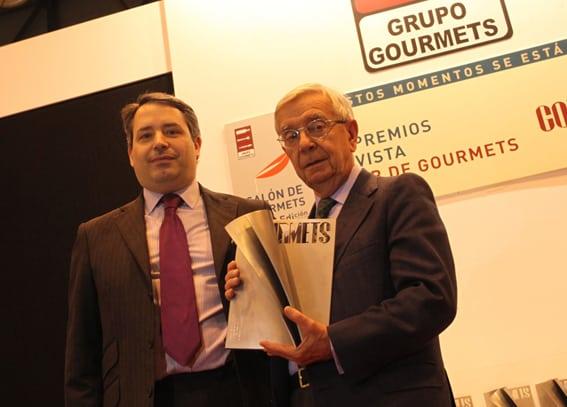 La RAG Premio Club de Gourmets a la Mejor Institución del año