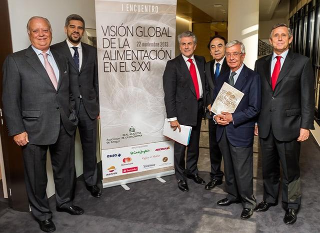Visión Global de la Alimentación, presentación en Madrid