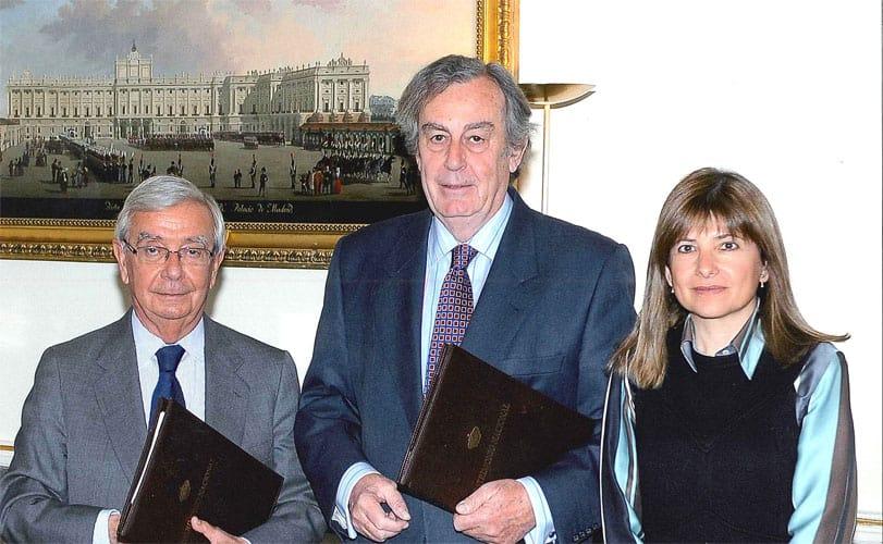 Renovación del convenio entre la Real Academia de Gastronomía y Patrimonio Nacional