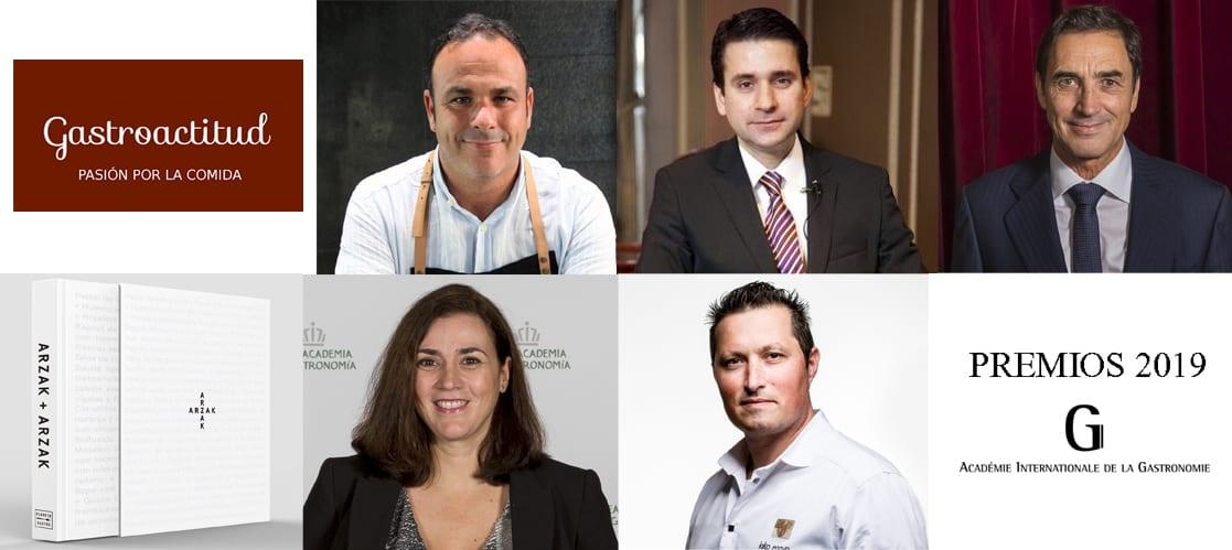 Premios de la Academia Internacional de Gastronomía 2019