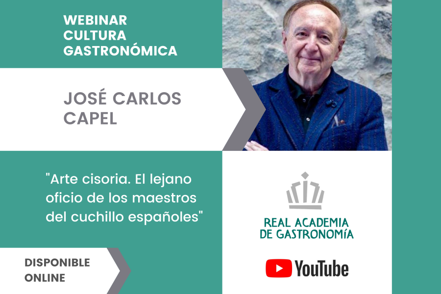 La conferencia de José Carlos Capel disponible en nuestra web
